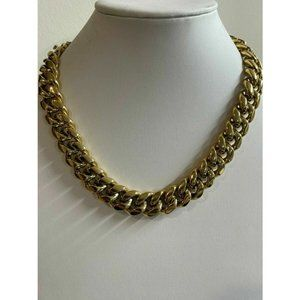 HarlemBling  14k Gold Over Stainless Steel Chain
